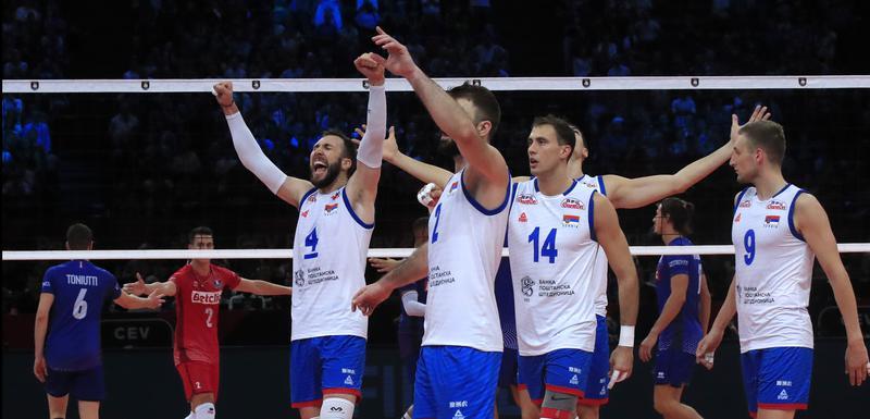 Znaju kako se osvaja zlato: Odbojkaši Srbije