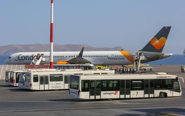 Sa aerodroma u Grčkoj