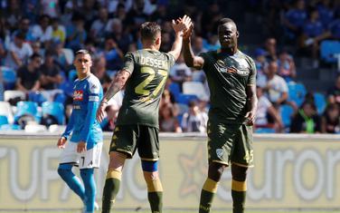 Mario Baloteli je postigao prvi gol u dresu Breše