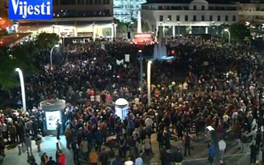 Sa protesta održanog 30. marta u Podgorici