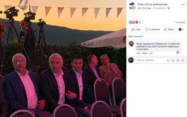 Komentar Ognjenović Đukanović na stranici NOVE
