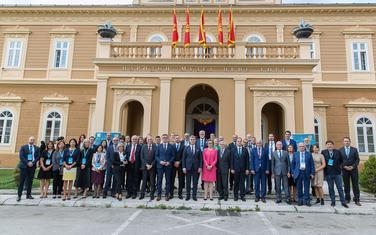 Učesnici Cetinjskog parlamentarnog foruma