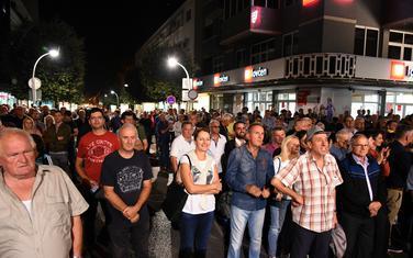 Sa sinoćnjeg protesta