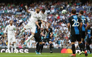 Sa utakmice Real Madrid - Briž