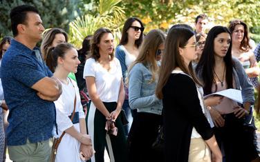 I kad polože ispite, teško dolaze do mentora: Juče ispred Rektorata