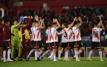 Fudbaleri Rivera slave nakon meča