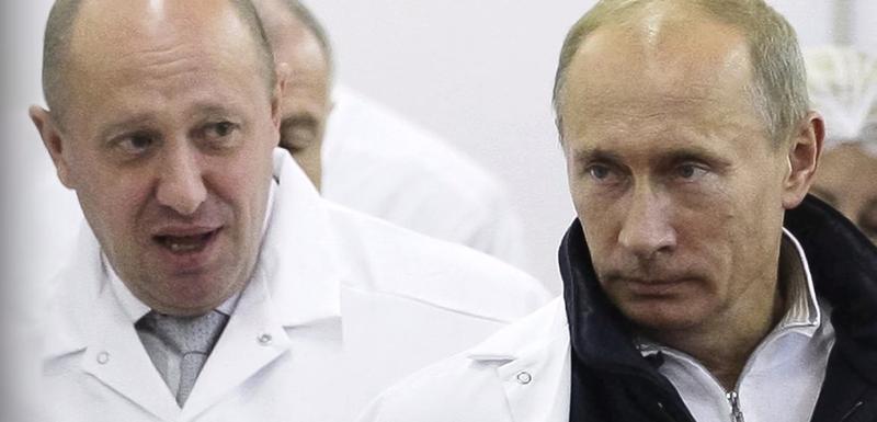 Prigožin i Putin