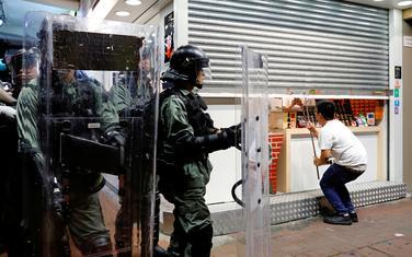 Policjija u Hongkongu