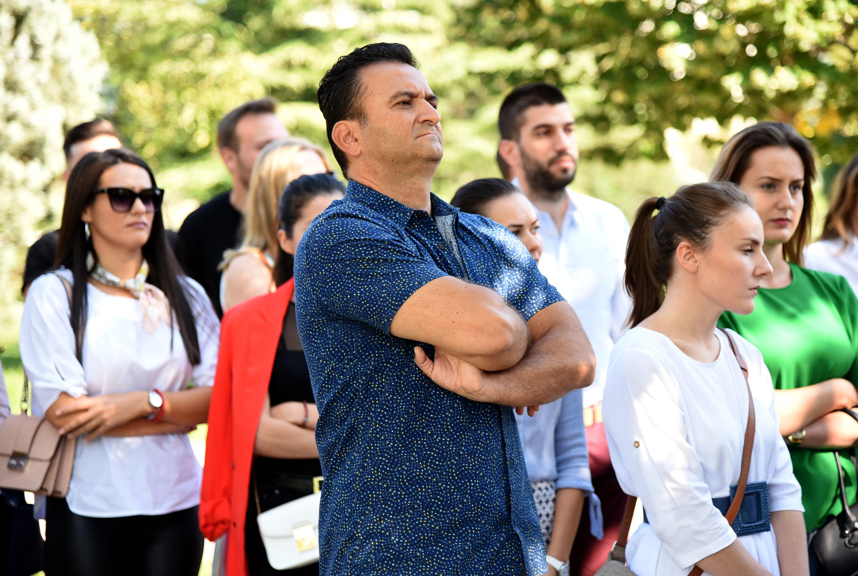 Sa nedavnog protesta studenata magistarskih studija ispred rektorata