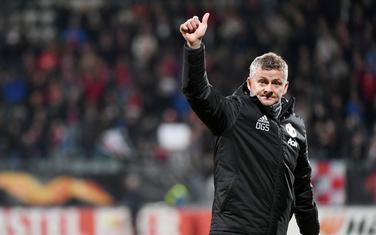 Ole-Gunar Solskjer nakon utakmicu u Alkmaru