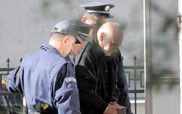 Privođenje Šaranovića kod istražnog sudije 2014. godine