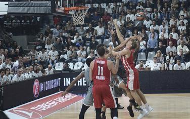 Sa utakmice Asvel - Olimpijakos