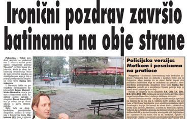 Vijesti, 5. oktobar 2009.