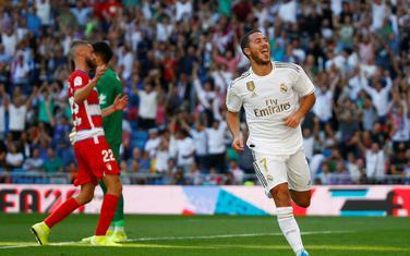 Azar slavi prvi gol za Real