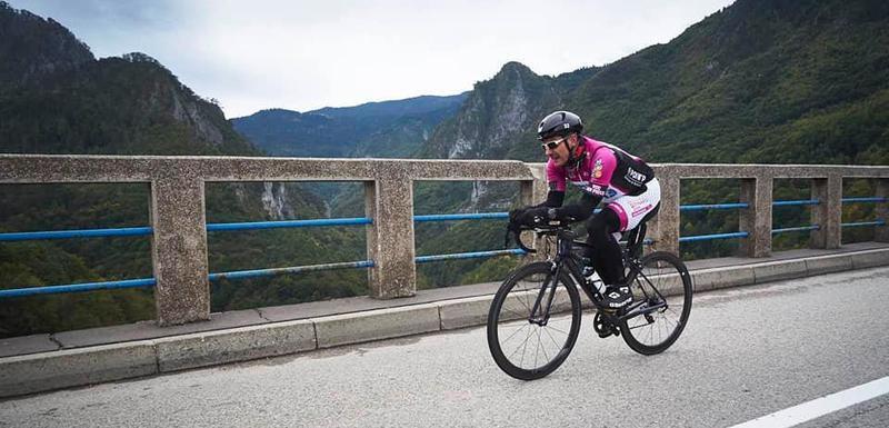 Tokom biciklističke vožnje prešli i preko kanjona Tare
