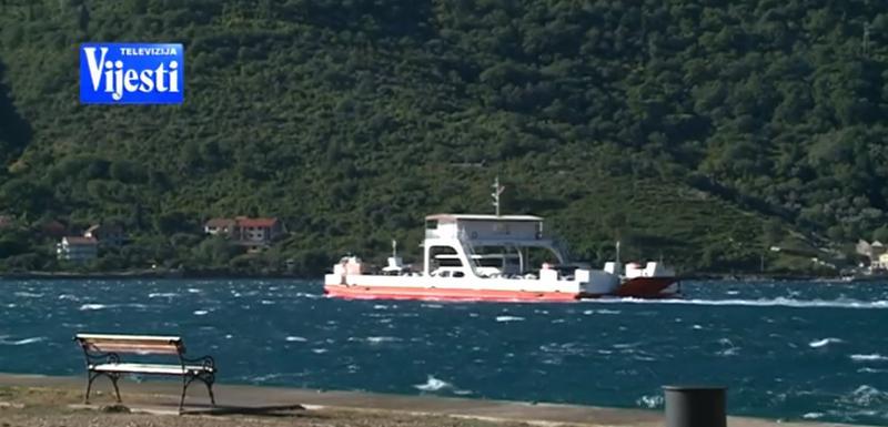 Trajekt preduzeća Pomorski saobraćaj