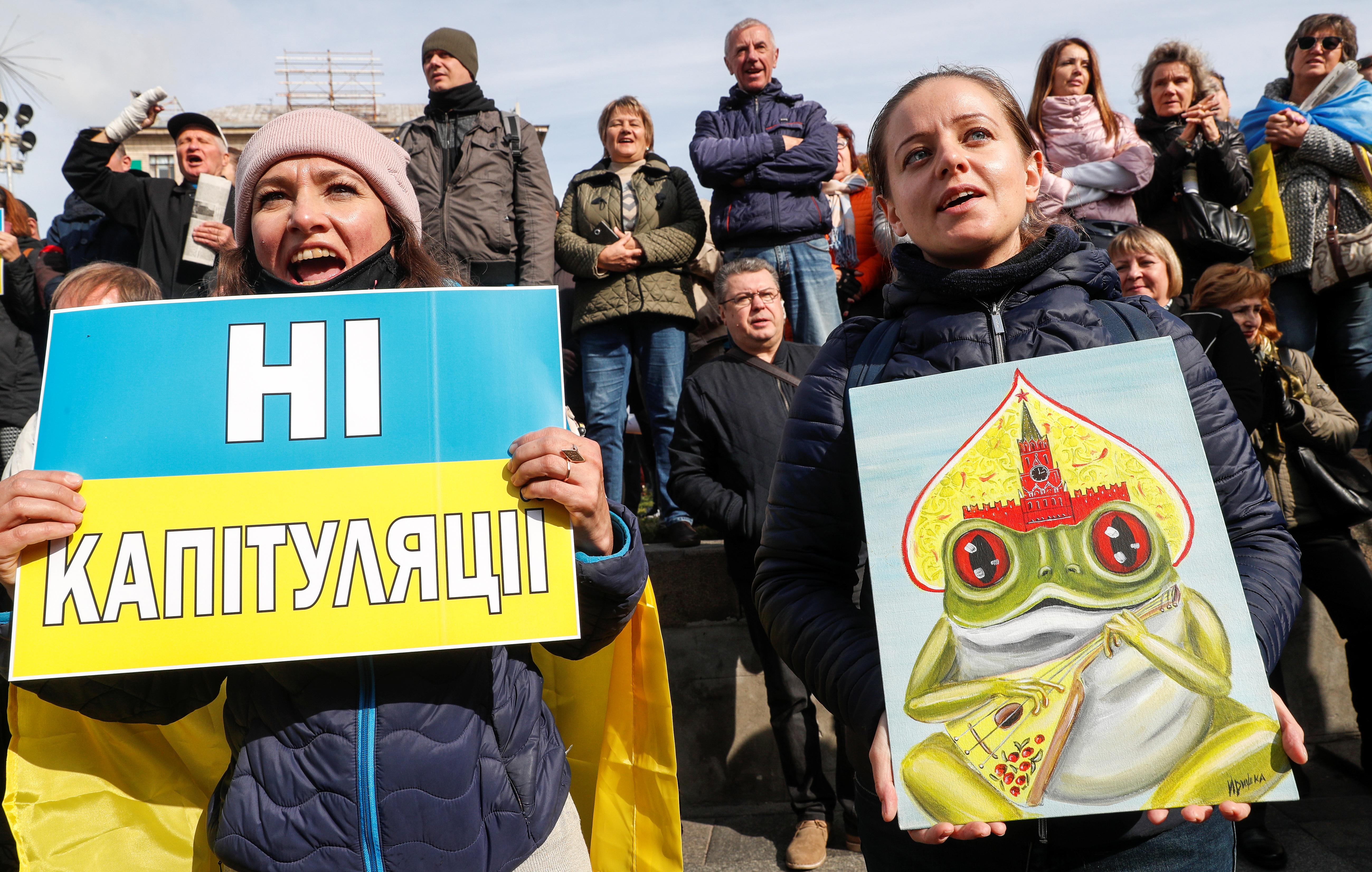 Kijev, protest