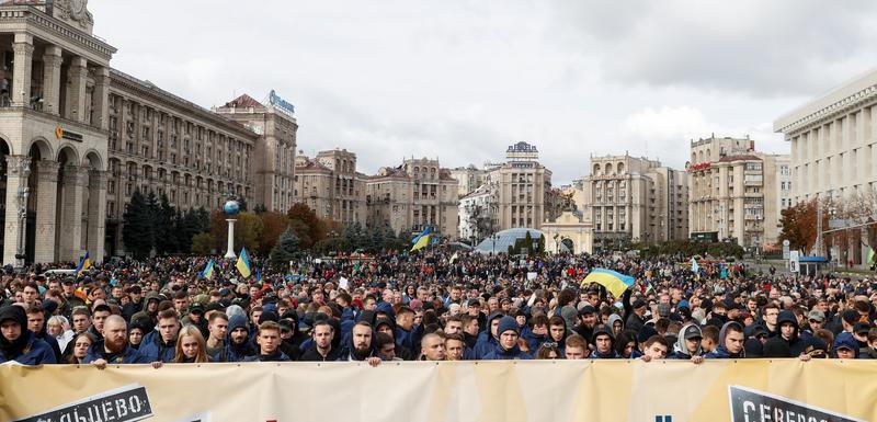 Sa protesta u Kijevu