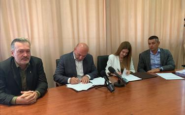 Sa potpisivanja protokola