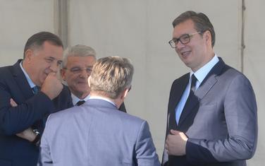 Dodik i Vučić