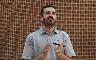 Trener Budućnosti Vladan Radović