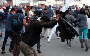 Sa protesta u Kitu