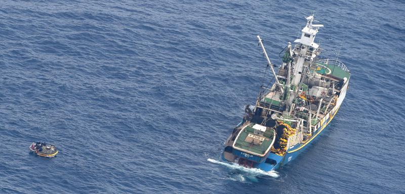 Brod koji je prevezao preživjele