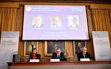 Dobitnici Nobelove nagrade za hemiju na ekranu