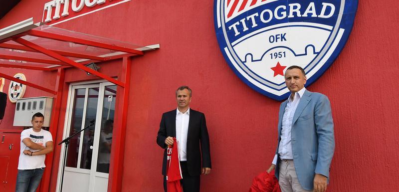 Vladan Vujović i Dejan Savićević
