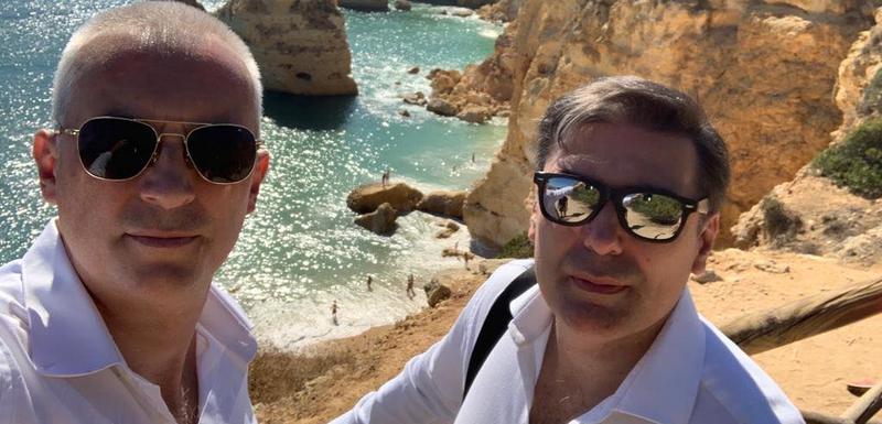 Nikčević i Bulatović u Portugalu