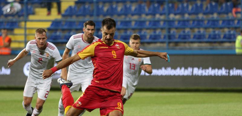 Stefan Mugoša je postigao dva od tri gola naše selekcije u kvalifikacijama za EP