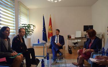 Drljević na sastanku sa francuskim parlamentarcima