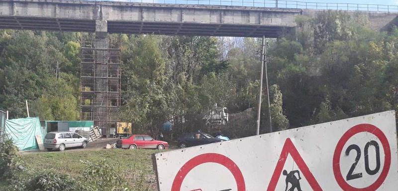"""""""Saobraćaj zaustavlje zbog bezbjednosti"""": Most na samom ulazu u Kolašin"""