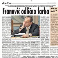 Vijesti, 11. oktobar 2009.