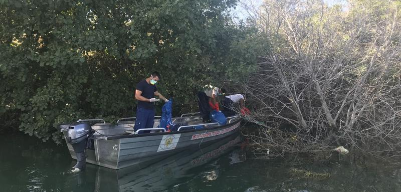 Sa akcije čišćenja rijeke Bojane