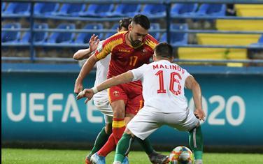 Sa meča Crna Gora - Bugarska