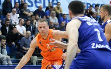 Sead Šehović na meču protiv Cibone