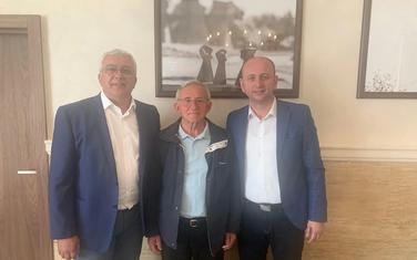 Mandić i Knežević sa Lazarevićem