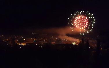 Vatromet u Podgorici