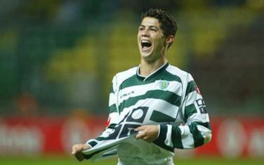 Kristijano Ronaldo u dresu Sportinga