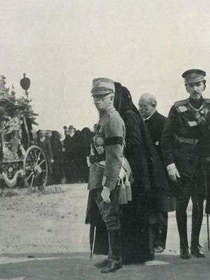 Italijanski kralj na sahrani u Sanremu