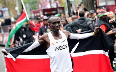 Senzacija: Eliud Kipčoge prvi je istrčao maraton za manje od dva sata