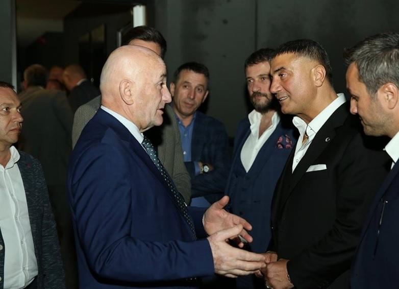 Osman Nurković, Sedat Peker