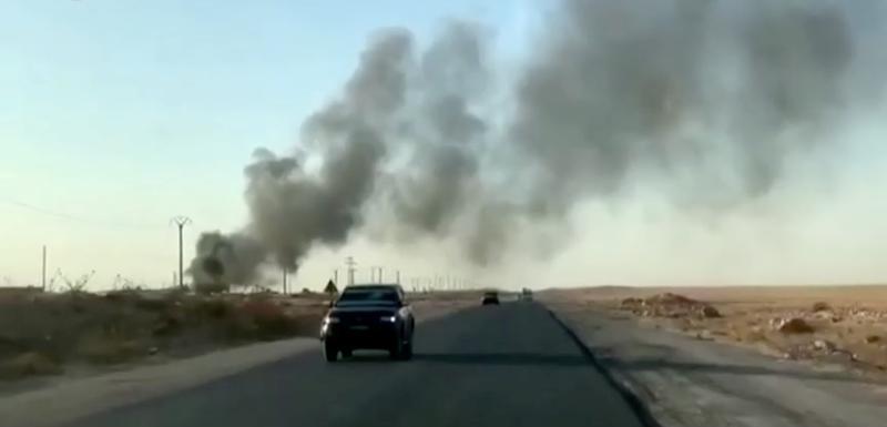 Detalj sa područja u Siriji u kojem se odvjaju sukobi