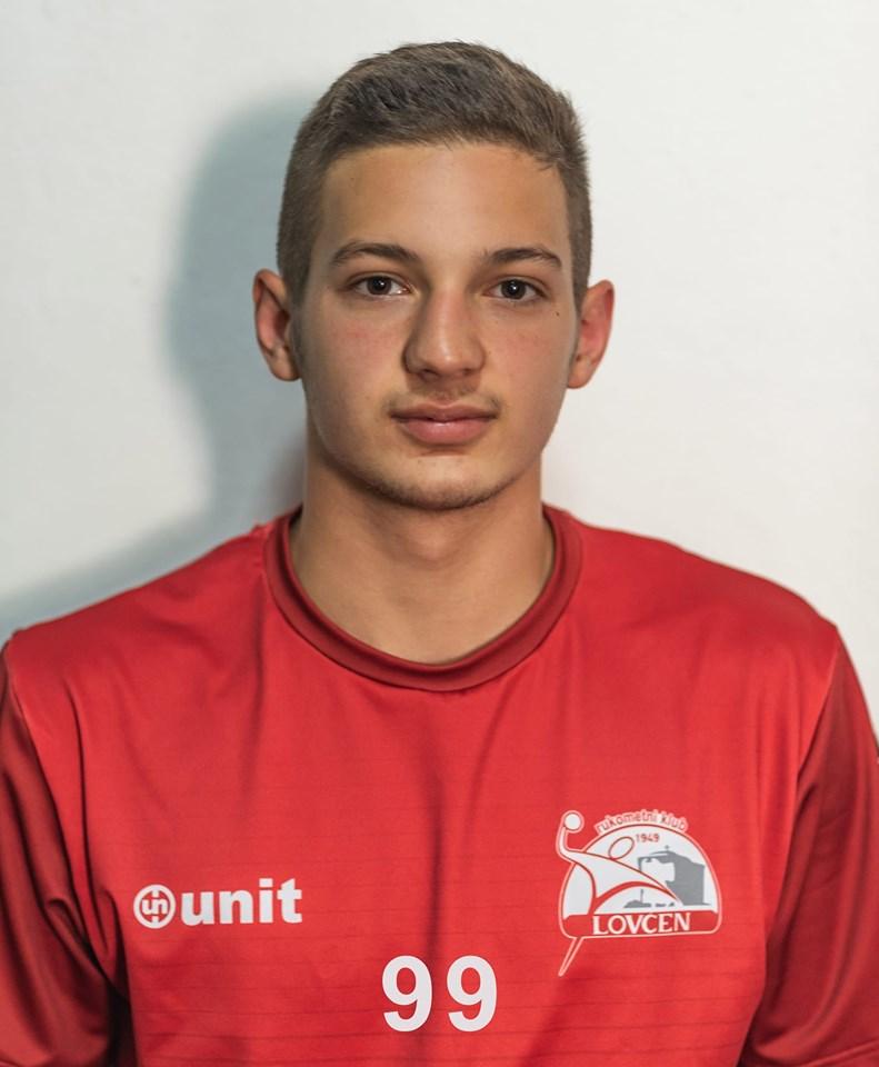 Mladi Luka Vukićević je bio jedan od najboljih u timu Lovćena