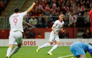 Milik i Levandovski slave gol protiv Sjeverne Makedonije