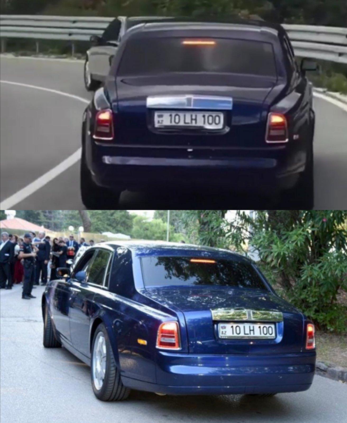 Isto vozilo u pratnji Pekera i na svadbi Đukanovića
