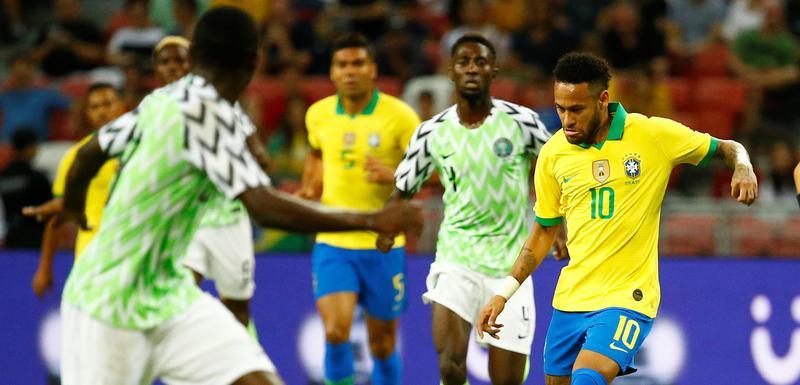 Nejmar na meču sa Nigerijom