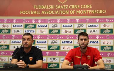 Miodrag i Ilija Vukotić na konferencija za medije