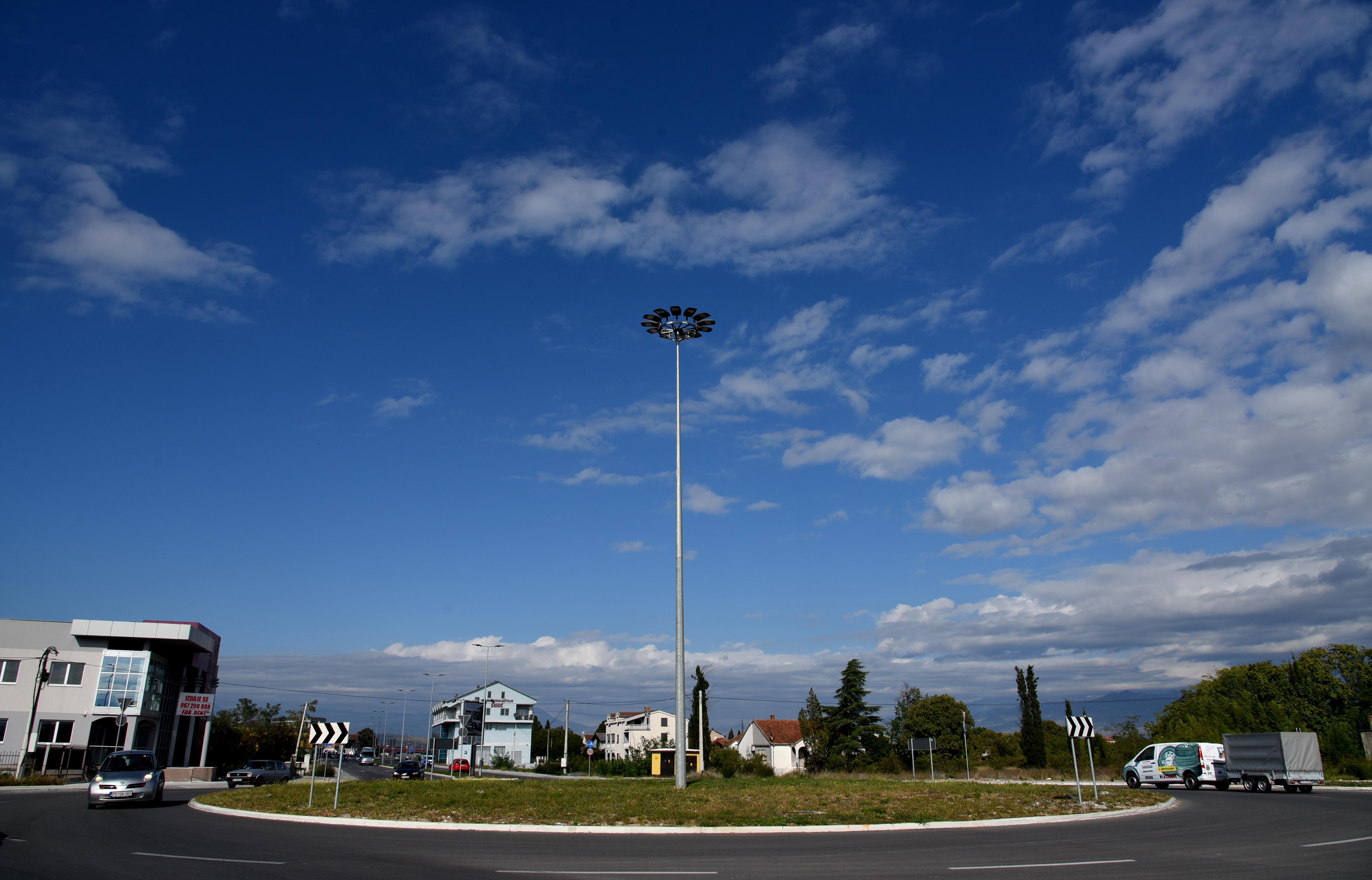 Jedan od kružnih tokova u Podgorici